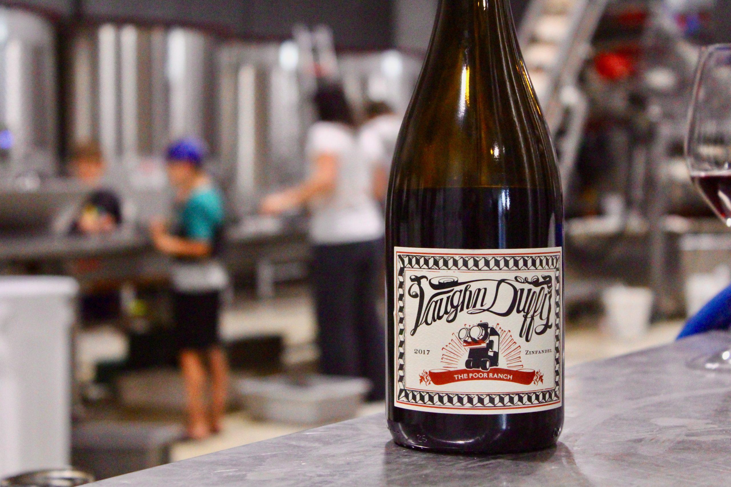 bottle in winery