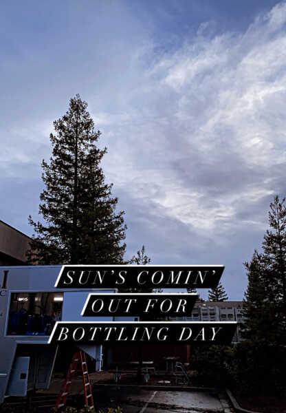 Bottling Day Blue Sky