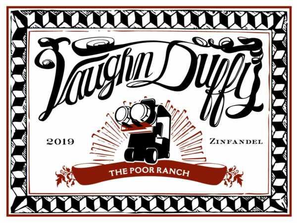 Poor Ranch Zin Label